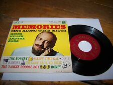 MEMORIES SING ALONG WITH MITCH MILLER AND THE GANG COLUMBIA VOL II B15422 45 RPM
