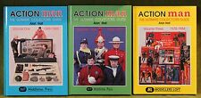 ORIGINAL VINTAGE ACTION MAN BOOKS VOLUME 1-2-3 ultimate collectors guide gi joe