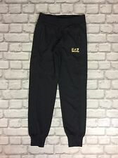 EMPORIO ARMANI EA7 LADIES UK XS BLACK SPORTS JOGGERS JOGGING BOTTOMS SWEAT PANTS