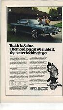 Original 1980 Buick LeSabre Magazine Ad - The More Logical We Made It...