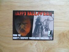 2016 HAPPY HALLOWEEN PROMO CARD 3 PHILLY NON-SPORT SHOW