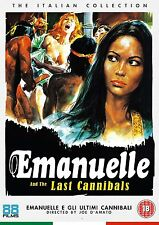 EMANUELLE E GLI ULTIMI CANNIBALI di Joe D'Amato (1977) Laura Gemser DVD NEW .cp