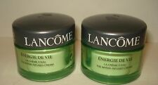 2 Lancome Energie De Vie The Water Infused Cream - Total 1.0 Oz/30 g New