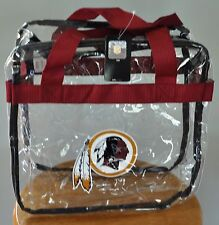 Washington Redskins CLEAR Messenger Tote Bag Purse - Meets Stadium Security Reqs