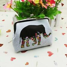 Womens Mini Elephant Wallet Handbag Leather Cute Card Holder Coin Purse Clutch