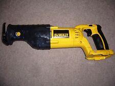 Dewalt DC385 XRP 18v Reciprocating Saw.