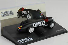 1928 Opel Rak 2 flatt black / schwarz 1:43 IXO Altaya Collection