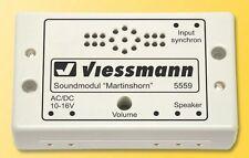SH Viessmann 5559 Soundmodul Martinshorn Fabrikneu