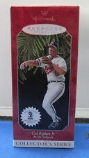 Hallmark - Keepsake Ornament & Trading Card - MLB - Cal Ripken Jr - 1998 - MIB