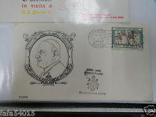 FIRST DAY COVER 1er JOUR POSTE VATICANO 1958-1963 VATICAN FDC