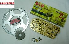 Suzuki GSXR750 Y-K1-K2-K3 (00 to 03 DID Gold X-Ring Chain & JT Sprockets Kit Set