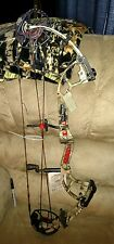 "New 2014 PSE Premonition Compound Bow MOBU Infinity Camo 24.5-30"" 70# LH LEFTY"