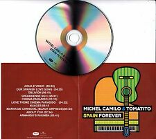 MICHEL CAMILO & TOMATITO Spain Forever 2016 UK 10-track promo test CD