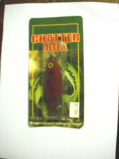 RATTLESNAKE TACKLE CO. CHATTER BOX RTB-1 RED ROVER
