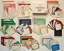 PROJECT LIFE  [HOLIDAY EDITION]  Mini Kit (100 cards)