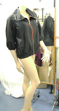 Joseph Ribkoff 10 BNWT Gorgeous Black Casual Versatile Jacket / Coat wth Red Zip
