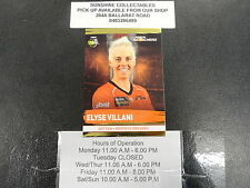 2016/17 CRICKET TAP N PLAY GOLD CARD NO.166 ELYSE VILLANI PERTH SCORCHERS