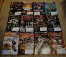 Lot of 12 issues AMERICAN RIFLEMAN  2015 Official Journal of the NRA