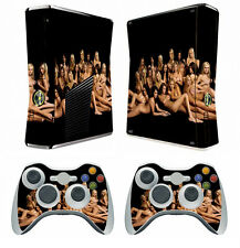 Girls 204 Vinyl Decal Cover Skin Sticker for Xbox360 slim and 2 controller skins