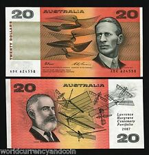 AUSTRALIA $20 1994 HARGRAVE *COMMEMORATIVE* UNC  UN RECORDED  RARE CURRENCY NOTE