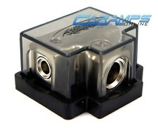 NEW PLATINUM POWER / GROUND (1) 0/2 AWG IN (3) 4/8 GAUGE OUT DISTRIBUTION BLOCK