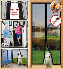 Instant Mesh Screen Door Magic Magnetic Hands Free For Patio/Sliding Door NEW!
