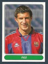 PANINI EUROPEAN FOOTBALL STARS 1997- #063-BARCELONA & PORTUGAL-FIGO