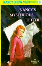 Nancy Drew Nancy's Mysterious Letter Vol. 8 by Carolyn Keene HC