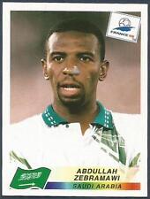 PANINI WORLD CUP FRANCE 1998- #197-SAUDI ARABIA-ABDULLAH ZEBRAMAWI