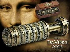 CRYPTEX Dan Brown CODICE DA VINCI Code GRANDE 1:1 UFFICIALE Noble Collection BOX