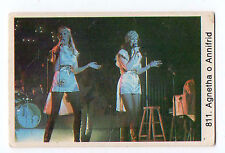1970s Swedish Pop Star Card Agnetha Fältskog and Anni-Frid Lyngstad Abba singers