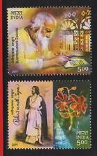 INDIA STAMP # 2699-00 Rabindranath Tagore Poet Painter Writer 2v 2011 MNH