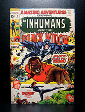 COMICS:Marvel: Amazing Adventures #7 (1971), Inhumans/Black Widow/Neal Adams art