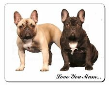 French Bulldogs 'Love You Mum' Computer Mouse Mat Christmas Gift Id, AD-FBD1lymM
