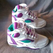 Gitano Techna Fit White Grape & Jade HI TOP SNEAKERS Womens Size 6 1/2 with Box