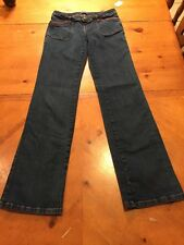 Le Donne Jeans Size 5/6 Bootcut Stretch 28 (Unstretched) X 33