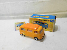 Vintage Lesney Matchbox Superfast No. 23 Volkswagen Camper Boxed