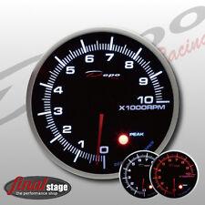 Depo Racing 115mm Drehzahl Anzeige - RPM Tacho Instrument Warnton Peak gauge
