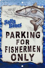 Snook Parking Sign Wall Plaque Gifts Men Fishing Fishermen Fish Outdoors