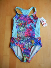 ATHLETA GIRL NWT tropical floral one-piece swimsuit, NWT, M (8-10)