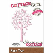 COTTAGE CUTZ ROSE TREE CUTTING DIE BY THE SCRAPPING COTTAGE - NEW 2015