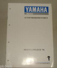 Schulungsunterlage Teileliste Yamaha Marine Außenbord Motoren Modellpflege 1996