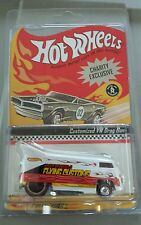 Hotwheels flying customs white vw drag bus
