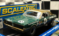 Scalextric C3614 1967 Mercury Cougar XR7 Trans-Am Alan Moffet DPR 1/32 Slot Car