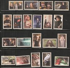 2013 Harry Potter 20 Singles US Forever Postage Stamps