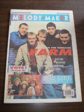 MELODY MAKER 1990 NOVEMBER 24 FARM BLUE PEARL RUN DMC ECHO AND THE BUNNYMEN