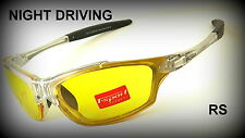 Night Driving vision HD Glasses Prevention Yellow Driver Sunglasses polarized TS