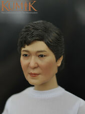 "1/6 Scale Female Head Sculpt KUMIK 16-50 For 12"" Hot Sideshow Toys TTL HT Body"