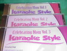 Celebrating Mom ~ #1, 2 & 3 ~ Daywind~Karaoke Style ~~ God Gave You to Me ~ CD+G