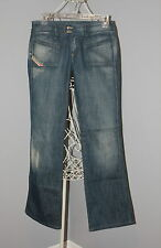 WOW~ DIESEL sz 25 BOOT CUT DISTRESSED LADIES JEANS